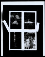 Four family snapshots, 1920-1940
