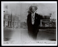 Floyd Covington when he was about 17 years old, 1918