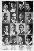 Student portraits of African Americans, including Ellis Knox, in an issue of The Crisis magazine, 1922