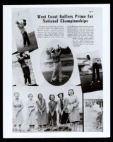 West Coast Golfers Prime for National Championships, Los Angeles, 1939