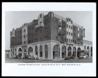 Dunbar Hotel (formerly Hotel Somerville), Los Angeles, 1930s