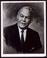 Painted portrait of Paul R. Williams, painted by Edward Fazzio, 1961