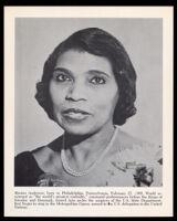 Marian Anderson, 1935-1968