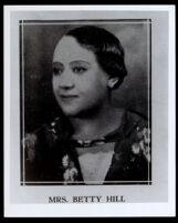 Betty Hill, Los Angeles, 1920-1940