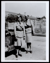 Major Vivian Osborne Marsh and Lieutenant Lottie Rucker, Berkeley, 1945