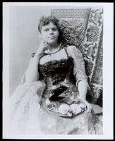 Fannie E. Garrott, circa 1890