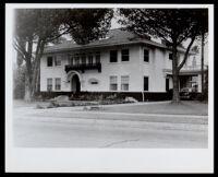 Harvard Blvd. residence of Drs. John and Vada Somerville, Los Angeles, 1944-1950