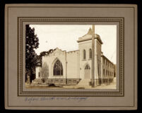 People's Independent Church of Christ at 18th St. and Paloma, Los Angeles, circa 1915