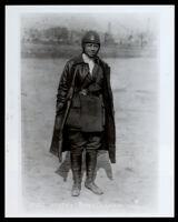Bessie Coleman, African American airplane pilot, Los Angeles, circa 1922