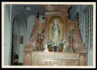Altar at St.. Matthias Episcopal Church, Los Angeles, circa 1960-1963