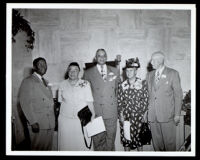 Charlotta Bass, Norman O. Houston and others at Golden State Mutual Life Insurance, Los Angeles, circa 1949