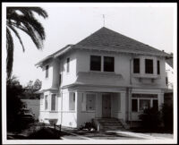 Residence of Colonel Allen Allensworth, Los Angeles, 1962