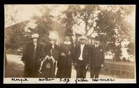 Danley family at Samuel Boba Danley Jr.'s graduation from U.S.C., Los Angeles, 1923
