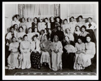 Alpha Kappa Alpha women, Los Angeles, 1910-1920