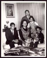 Portrait of a family, circa 1950