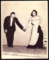 Carol Brice with her brother, Jonathan Brice, 1940-1960