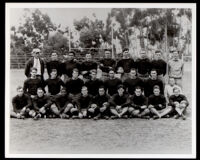 Whittier College varsity football team, Whittier, 1928
