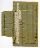 Telegram from Alice B. Toklas to Gilbert Harrison