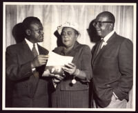 "Louise Beavers and Bill ""Bojangles"" Robinson, Los Angeles, 1958"