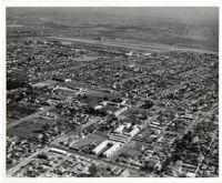 Aerial view of Santa Monica Airport