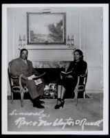 Reverend Clayton D. Russell and Gwendolyn Diggs, Los Angeles, 1940-1960