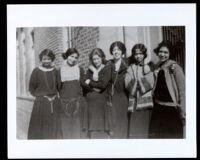 Teachers at Holmes Avenue School, Los Angeles, circa 1920
