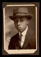 "Portrait of a ""Sandy,"" a friend of the Miriam Matthews family, 1920-1950"