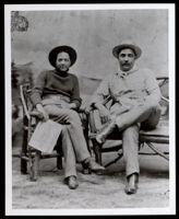 Robert James Boyd and a friend, 1890-1900