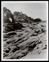 Santa Susana Pass, east side, Los Angeles County, circa 1895