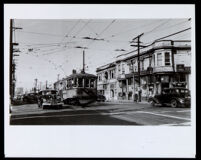 Street scene at Central Avenue and 12th St., Los Angeles, 1947