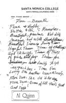Eulogy note for childhood friend Flora-Boswell