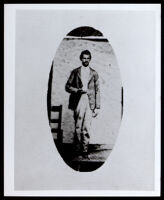 Portrait photograph of an unidentified man, 1860-1900