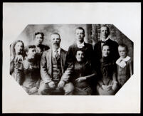 Family of Dr. Alice Watkins Garrott when she was a child, circa 1905