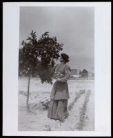 Lillie Dejarnette (or De Jarnette) as a young woman, circa 1890