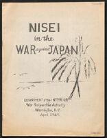 Nisei in the War Against Japan