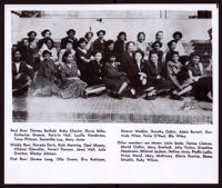 Group photograph of 26 Delta Sigma Theta Sorority members of the San Francisco chapter, 1930-1944