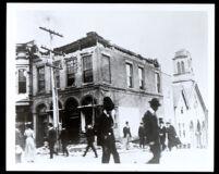 Third Baptist Church after the earthquake, San Francisco, 1906