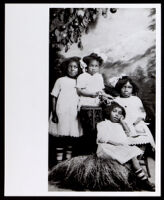 Wilkerson family daughters, Lompoc, circa 1870-1900