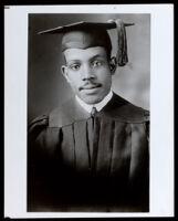 Samuel B. Danley, Jr, on graduation day, Los Angeles, 1923