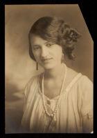 Theresa Bel Virginia Harper, Sacramento, 1921