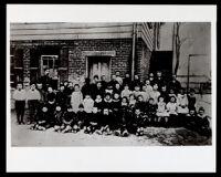 Integrated Public School, Los Angeles, 1855-1900