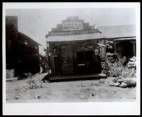Store build by Fannie and James Lockett, Duarte, circa 1910