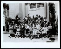 St. Matthias Episcopal Church School, Los Angeles, 1955