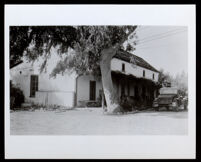 Andrés Pico adobe house after restoration, Mission Hills (Los Angeles), 1939