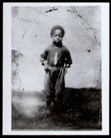 Robert Curry Owens as a young boy, Los Angeles, circa 1865
