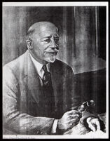 Painted portrait of W. E. B. Du Bois, by Laura Wheeler Waring, between 1931-1948