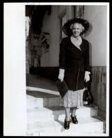 Dr. Vada Somerville, circa 1950s