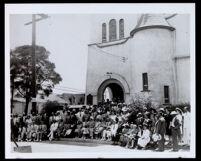 Congregation of the Hamilton Methodist Episcopal Church, Los Angeles, 1930-1960
