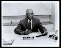 Arthur E. Prince, superintendent of the Enterprise School District, Redding, circa 1950