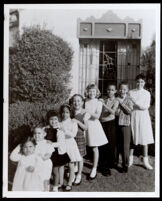 Great grandchildren of Dr. Alva Curtis Garrott, Los Angeles (vicinity), circa 1960